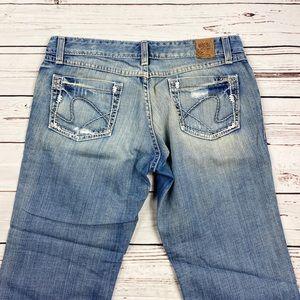 BKE Denim Women's Size 28 Sabrina Capri Jeans